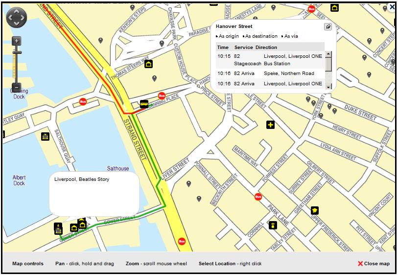Merseytravel Journey Planner Help